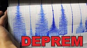 2 ayrı deprem ile ilgili görsel sonucu