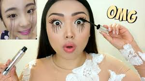 EXTREME LASHES Viral Asian <b>Mascara</b> Tested !!! - YouTube