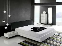 awesome black white wood glass simple design contemporary bedroom ideas wall paint mattres cushion pendant lamp bedroom awesome black white