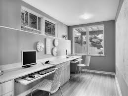 home office transitional two person build home office furniture
