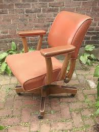 leather antique wood office chair leather antique. antique brown leather desk chair on wheels and wood office swivel c