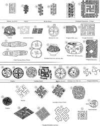 the rhombic meander motif is encountered on vessels especially the rhombic meander motif is encountered on vessels especially the lavishly or nted ritual vessels on anthropomorphic figures of clay also of