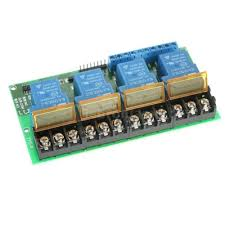 Relays Relay Mini 4-Channel DC <b>12V 30A</b> Relay Module Control ...