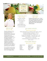 chef resumes cv samples — super yacht resumebanner chef sample  page   png