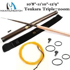 <b>Maximumcatch</b> 10-13FT 7:3 Telescoping Tenkara <b>Fly Fishing Rod</b> ...