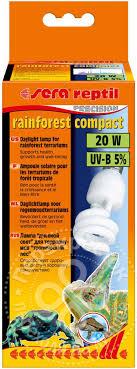 <b>Лампа Sera Reptil Rainforest</b> Compact UV-B 5% 20w - купить ...