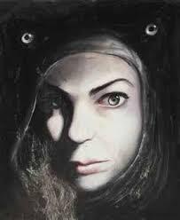 Andrea Lehmann (b. 1975) | Ghost hood 2 | Post-War & Contemporary Art Auction | Paintings, oil | Christie's - andrea_lehmann_ghost_hood_2_d5595184h