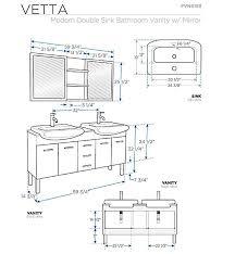 idea sink sizes bathroom kohler waste common