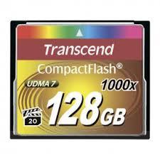 <b>Карта</b> памяти Transcend TS128GCF1000 <b>CF 128GB</b> 1000X
