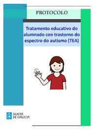 Resultado de imaxes para protocolo atencion educativa TEA XUNTA DE GALICIA
