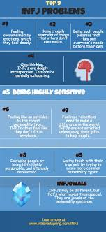 infj problems infographic personality personality infj