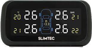 <b>Датчик</b> давления в шинах <b>Slimtec TPMS</b> X4, внешняя установка ...