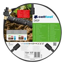 <b>Шланг сочащийся</b> Cellfast <b>DRIP</b> 19-001, 1/2, 7,5м — купить в ...