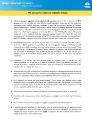 tcs campus placement eligibility criteria student forum tcs campus placement eligibility
