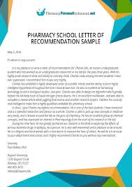 Letter of Recommendation for Pharmacy School Writing Service     Letter of Recommendation for Pharmacy School Writing Service