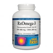 <b>Natural Factors RxOmega-3</b> 240 softgels | Pharmaca