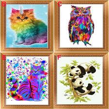 <b>1</b> комплект, вышивка, кристаллы, Алмазная мозаика, картина ...