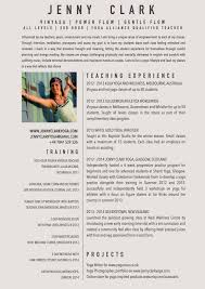good teacher resume examples cipanewsletter yoga teacher resume berathen com