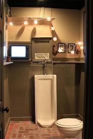 Man Cave Bathroom E Inside Perfect Ideas