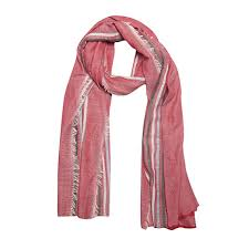 FabSeasons <b>Large</b> Size Striped Cotton Rayon Scarf, Scarves, Stole ...