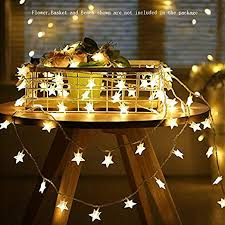 Star String Lights,Battery Operated LED Twinkle ... - Amazon.com