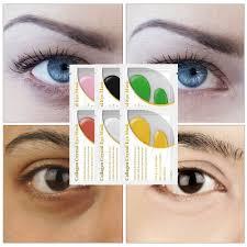 <b>10Pcs</b>/<b>5Pair Lanbena 24K</b> Gold Collagen Eye Mask Eyelid Pad Eye ...
