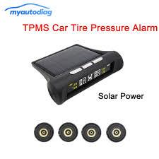 <b>Solar TPMS</b> External <b>Sensor</b> Car <b>Tire Pressure</b> Alarm Monitor ...