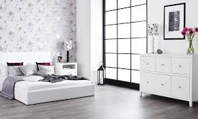 black bedroom furniture king size lacquered