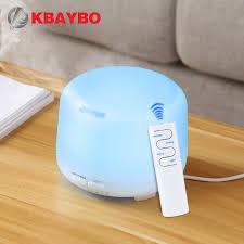 <b>300ml</b> USB <b>Remote Control</b> Ultrasonic Air Aroma Humidifier 7 Color ...