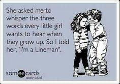 lineman memes on Pinterest | Antique Glass, Lineman and Glass ... via Relatably.com