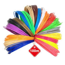 20 Colors 5m <b>3D Printer</b> ABS / PLA Filament 1.75mm / 3mm ...