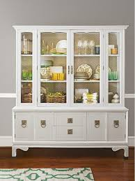 ideas china hutch decor pinterest: display cool finds and nice china in a hutch the backdrop inside is actually radiator