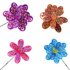 Pizies <b>1 PCS Double Layer</b> Colourful Peacock Laser Sequins ...