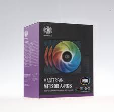 <b>Cooler Master MF120R ARGB</b> 3Pack 120mm Case Fan + ARGB ...