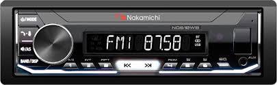 <b>Автомагнитола Nakamichi NQ610WB</b>, 1 DIN, черный1 DIN ...