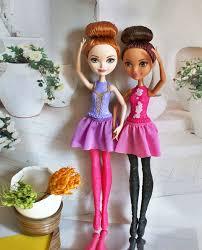 <b>Ever After High</b> балет: Холли и Брайер, фото обзор кукол