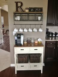 kitchen coffee station idea more built coffee bar makeover