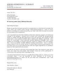 sample of job application letter for fresher
