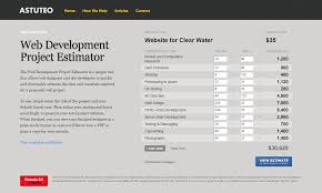 how to estimate web design cost an agency s perspective website development estimation for a water delivery service