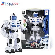 30CM <b>New Hot Sale</b> Children Electronic Toys Kids Super Robot ...