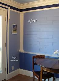 kitchen moldings: how to install moldings on brick wall