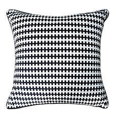 YYJF Black and White Stripes Pillow Geometric ... - Amazon.com