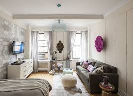 ideas studio apartment  popsugar home how do you create space both living