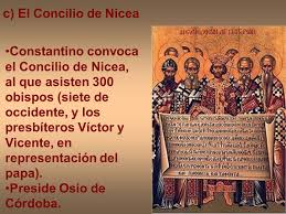 Image result for El  I Concilio de Nicea