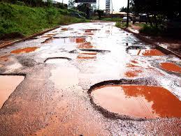 Image result for bad road