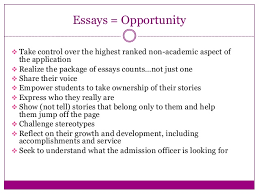 College admission essay pointers nmctoastmasters