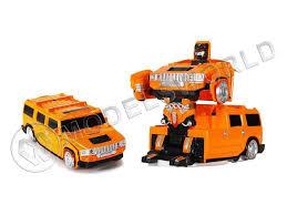 <b>Радиоуправляемый трансформер MZ</b> Hummer H2 2829X ездит ...