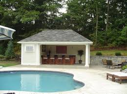 images about Pool House on Pinterest   Built In Grill  Pool    Pool House With Outdoor Kitchen Plans