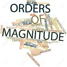 Image result for orders of magnitude