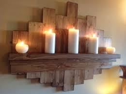 star wall decor shelf rustic